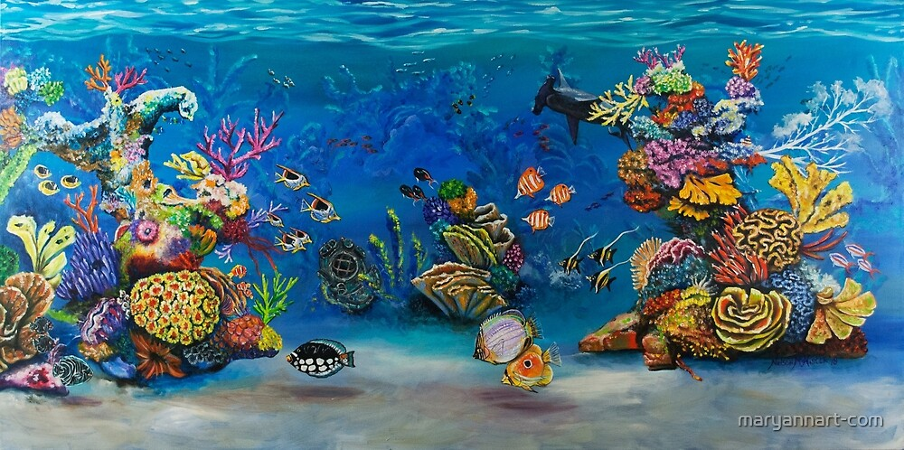Coral Reef by maryannart-com