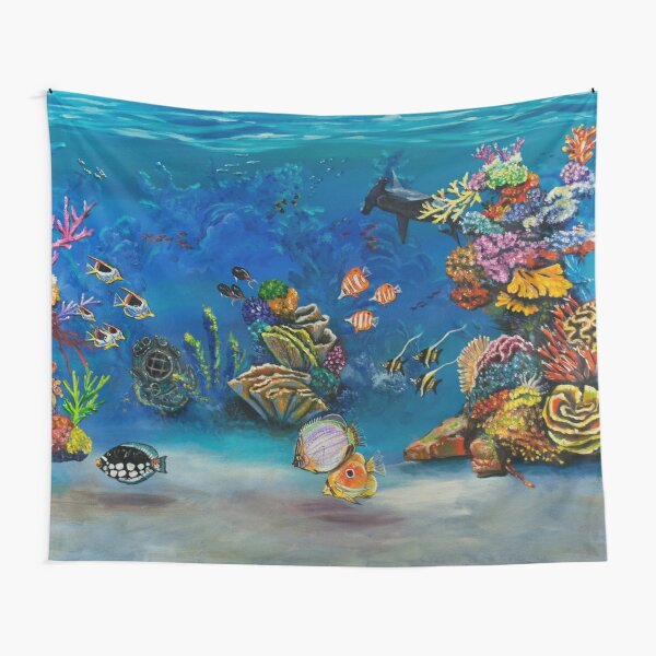 Coral Reef Tapestry
