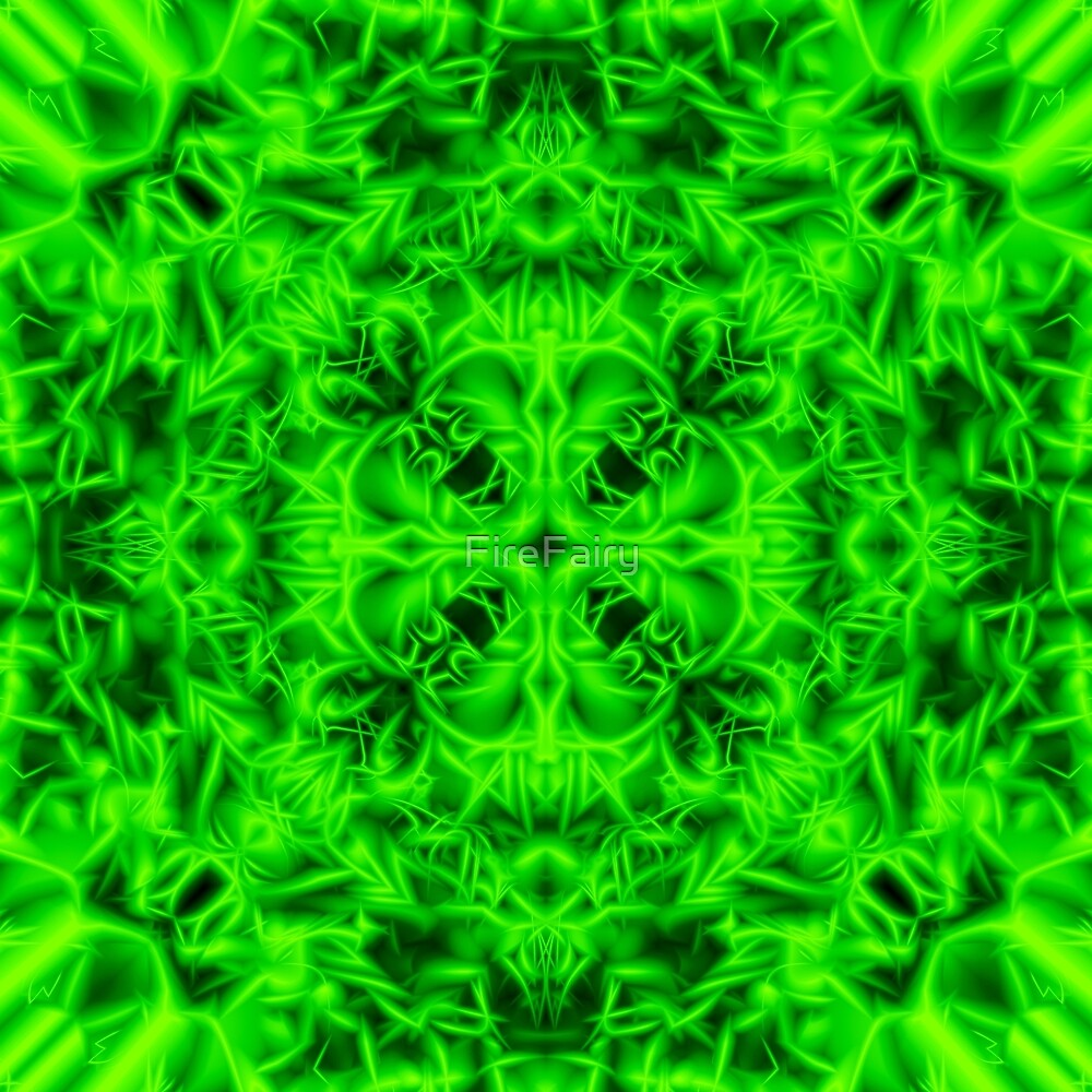 """4. """"Spirit of India: Blossom"""" in emerald green by FireFairy"""