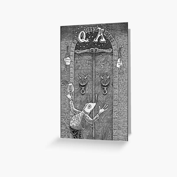 Queen Alice's Door Greeting Card