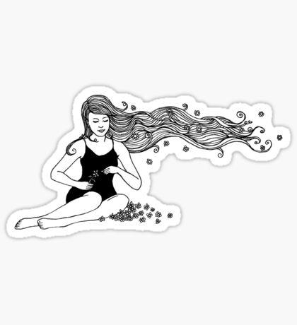secretly I dream of thee  Sticker