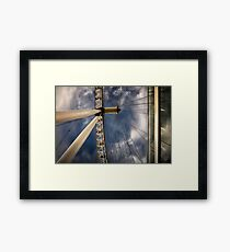 The Wheel Framed Print