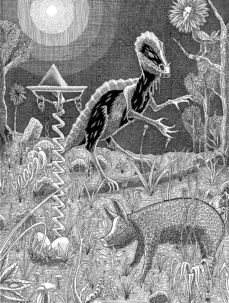 Jabberwocky by Gavin L. O'Keefe