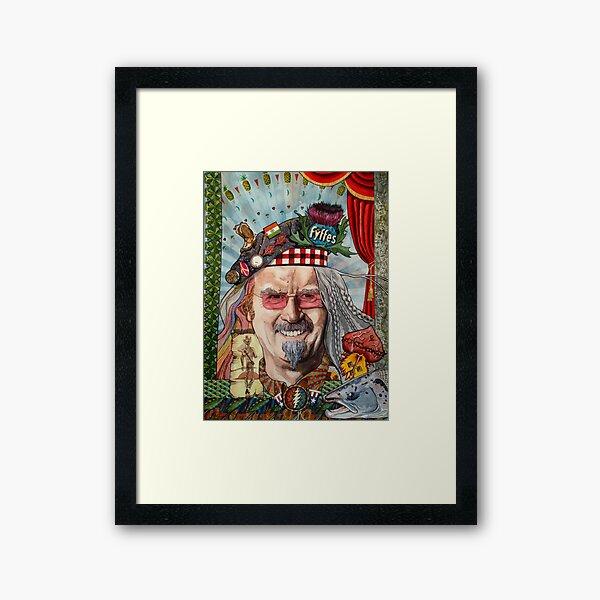 Billy the Drifter : Billy Connolly Framed Art Print