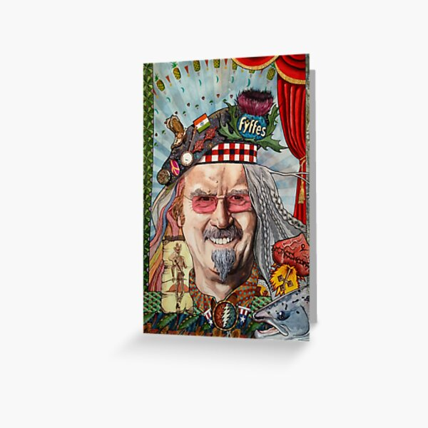 Billy the Drifter : Billy Connolly Greeting Card