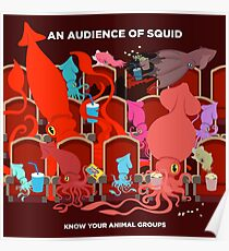 An Audience of Squid Poster