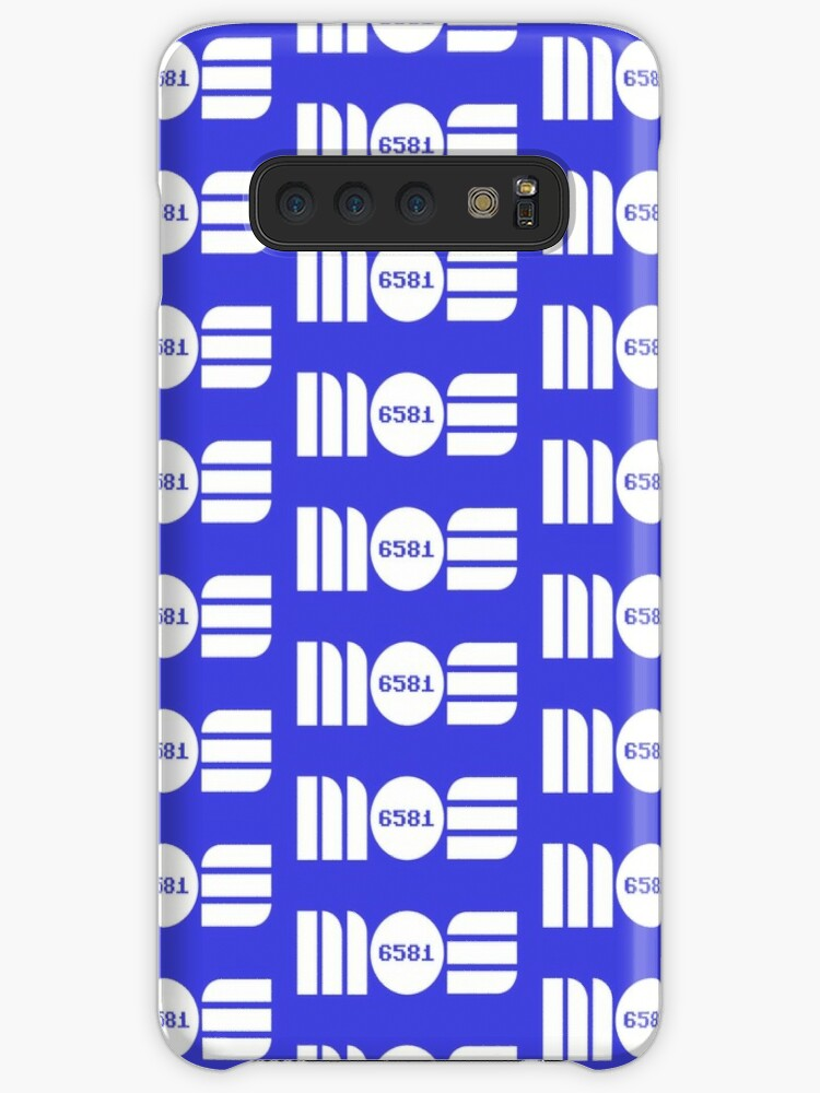 'MOS Sid Chip 6581' Case/Skin for Samsung Galaxy by Retro Chris