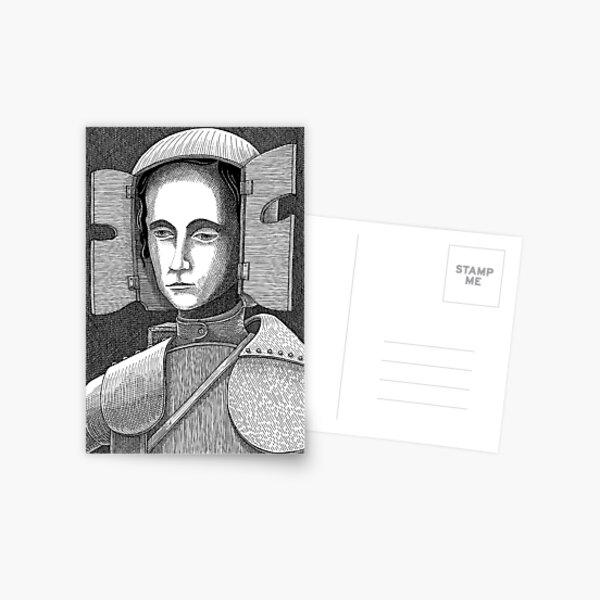 White Knight Postcard