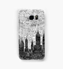 New York Doodle Samsung Galaxy Case/Skin