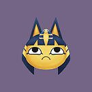 Ankha Animal Crossing by doodlecarrot