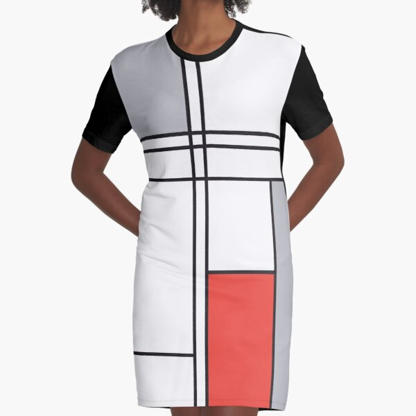 Abstract#41 Graphic T-Shirt Dress