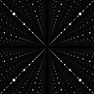 Infinity Space Dots -Black- by lematworks
