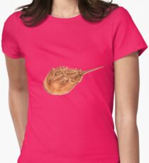 Horseshoe Crab (Limulus polyphemus) Womens Fitted T-Shirt