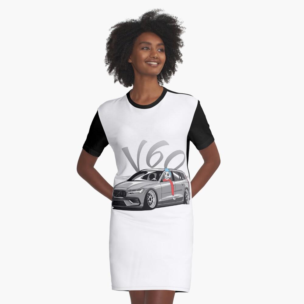 V60 Skulldriver Low Style Vestido camiseta