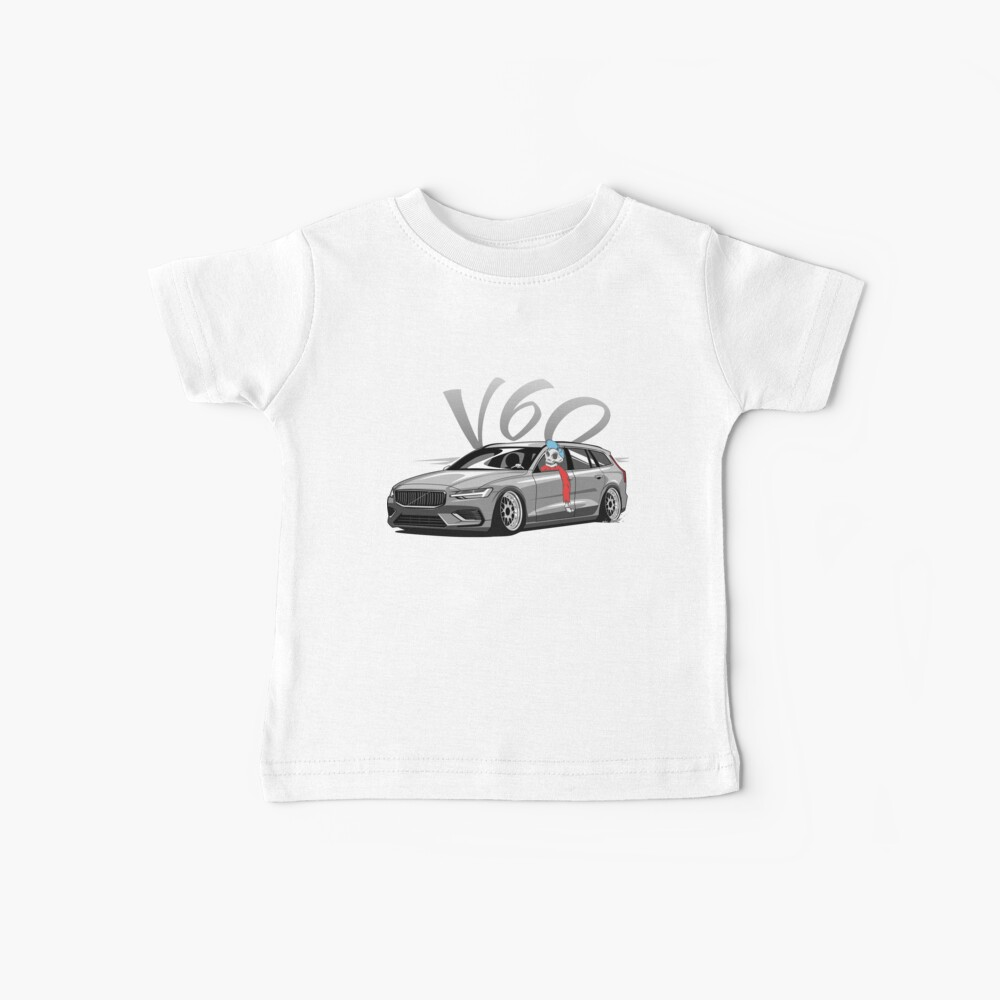 V60 Skulldriver Low Style Camiseta para bebés