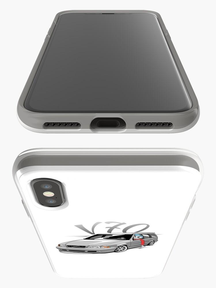 Vista alternativa de Funda y vinilo para iPhone V70 Skulldriver Low Style