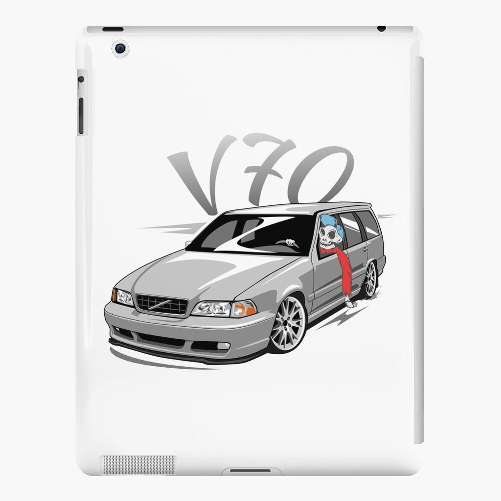 V70 Skulldriver Low Style Funda y vinilo para iPad