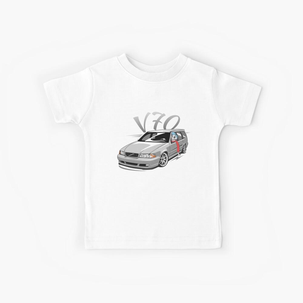 V70 Skulldriver Low Style Camiseta para niños