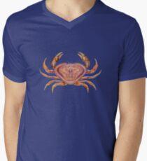 Dungeness Crab (Metacarcinus magister) Mens V-Neck T-Shirt