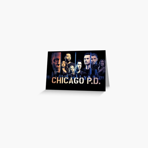 Chicago PD Greeting Card