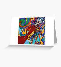 Carosel Dance Greeting Card