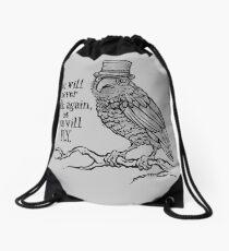 Three-eyed Raven Drawstring Bag