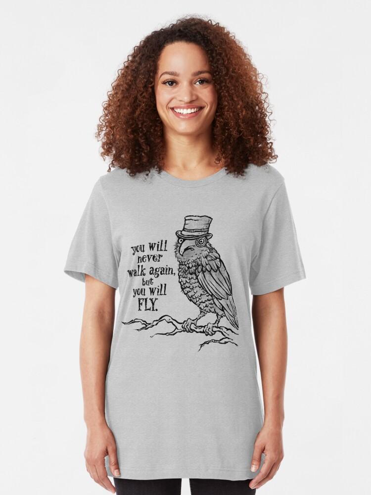Alternate view of Three-eyed Raven Slim Fit T-Shirt