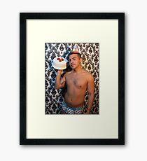Birthday boy Framed Print