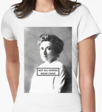 Rosa Luxemburg Women's Fitted T-Shirt