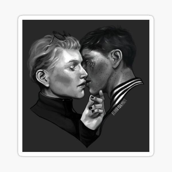 Abram and Drew Sticker