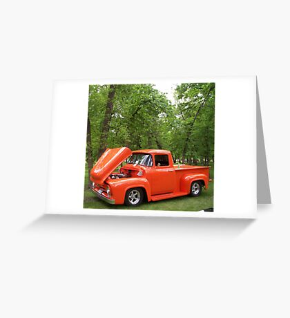 1950's Ford Pickup Greeting Card