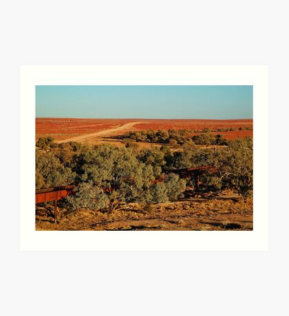 North Creek, Oodnadatta Track, Outback South Australia Art Print