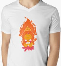 This Princess is on Fire! V-Neck T-Shirt