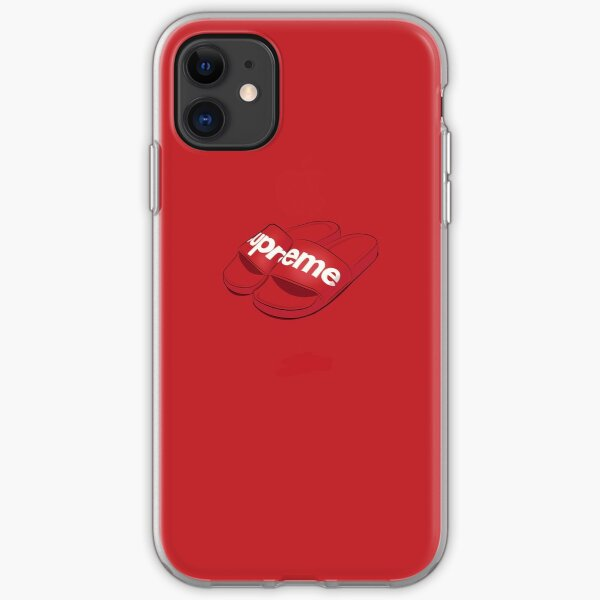 Tongs hype rouge SUP Coque souple iPhone