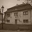 Beautiful old house in sepia tone by Lenka Vorackova