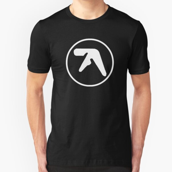 Aphex Twin Logo Slim Fit T-Shirt