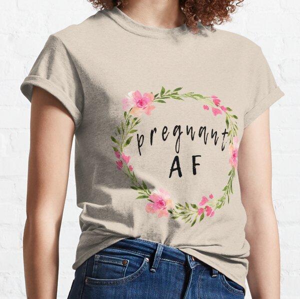 Pregnancy Announcement T Shirts Redbubble