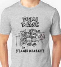 Steamed Milk Latte Slim Fit T-Shirt