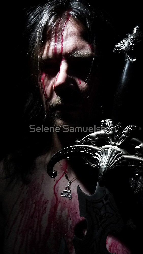 Vikings Battle by Selene Samuelsson