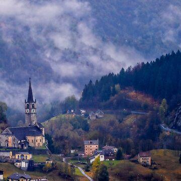 Mountain village by birba