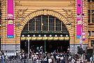Flinders Street Station - Front Entrance by eegibson