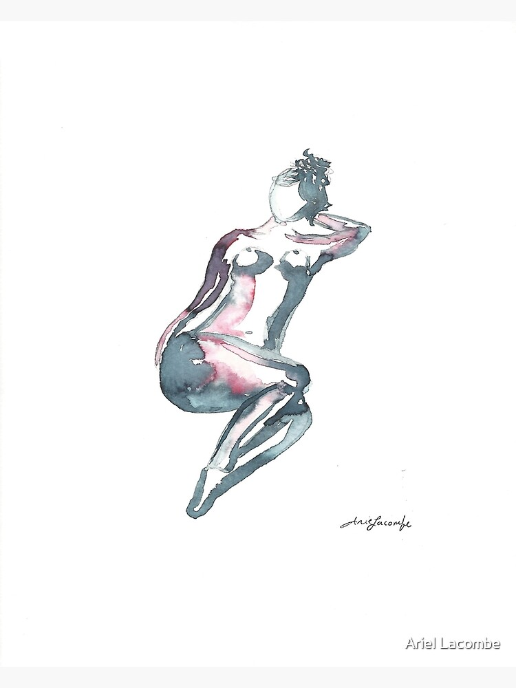 Water colour nude  by greenday8