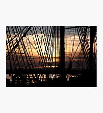 Knot for Sail Photographic Print