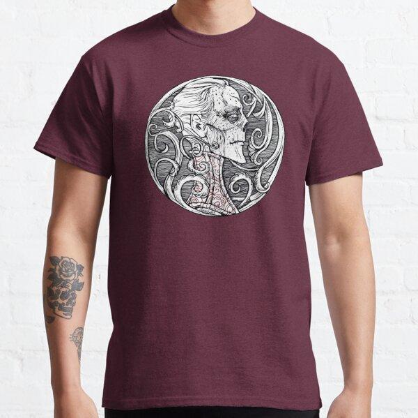 Der rote Tod - Schwarz-Weiß-Version Classic T-Shirt