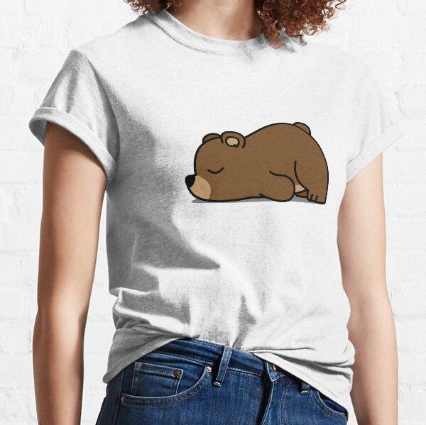 Cute Lazy Bear Classic T-Shirt