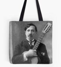 Augustin Barrios - Brilliant Paraguayan Guitarist and Composer Tote Bag