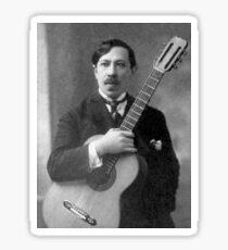 Augustin Barrios - Brilliant Paraguayan Guitarist and Composer Sticker