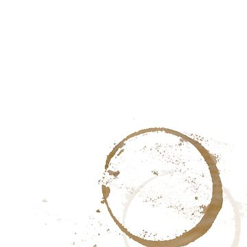 Large Coffee Stain by ubiquitoid