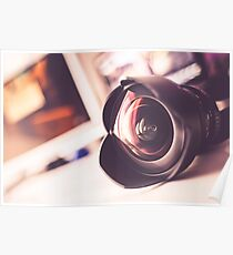 Photographic Lens Poster