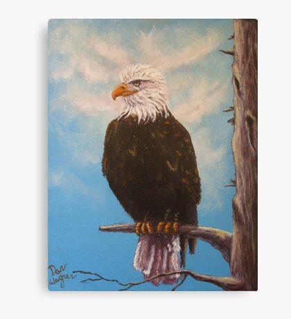 Vigilant Eagle Canvas Print